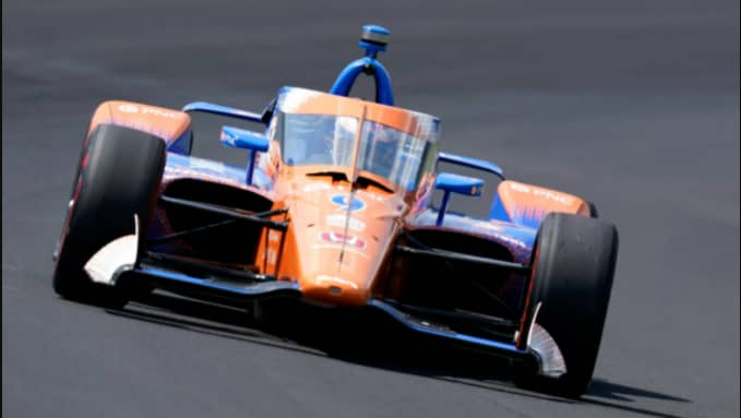 The Full-Field Indy 500 Test Session at the IMS